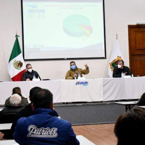 Reunión del Subcomité de salud de la Región Centro1