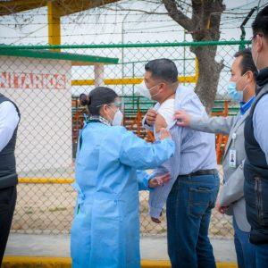 Caravana de vacunación anti influenza, dirigida a los deportistas de Piedras Negras