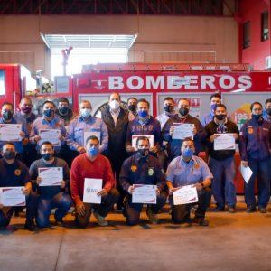 Reconoce Gobierno Municipal al Heroico Cuerpo de Bomberos