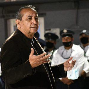 Alcalde Agustín Ramos visitó a elementos de Seguridad Pública1