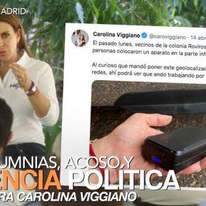 Calumnias, acoso y violencia política contra Carolina Viggiano