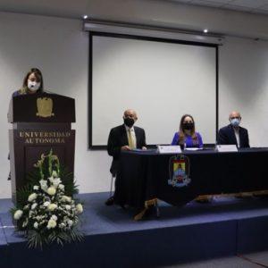 PARTICIPA INSTITUTO COAHUILENSE DE LAS MUJERES EN CONFERENCIAS DE LA FACULTAD DE MEDICINA1