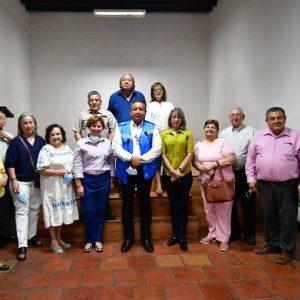 Reunión con la Sociedad Monclovense de Historia1