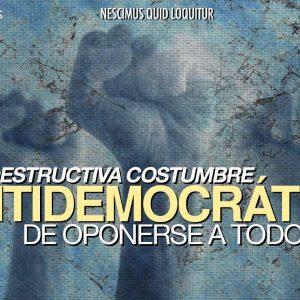 antidemocrática