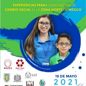 """Invita UAdeC al Conversatorio """"Experiencias PERAJ como Factor de Cambio Social en el Norte de México""""1"""