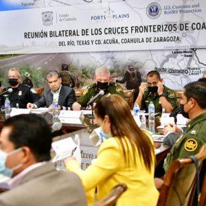 PARTICIPA MARS EN REUNIÓN BINACIONAL DE SEGURIDAD Y CRUCES FRONTERIZOS1