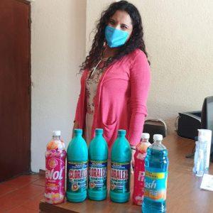 Programa de intercambio de productos de limpieza por material reciclado1