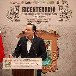 Conmemoración del Bicentenario de la Proclamación de la Independencia1