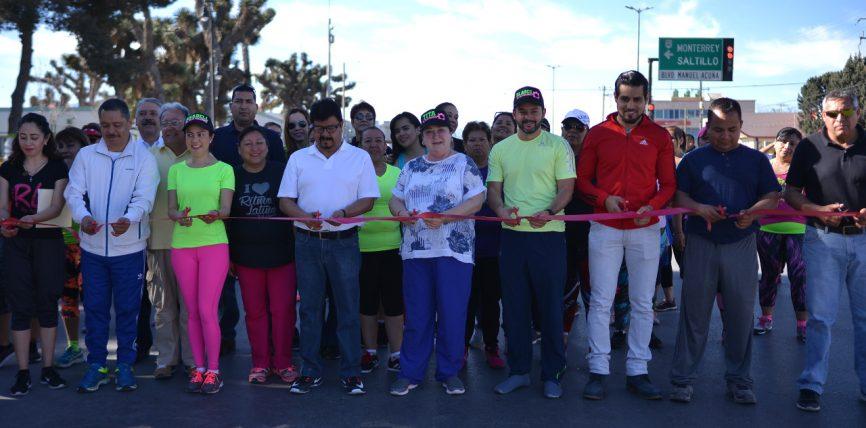 Inauguran el Paseo Dominical Familiar