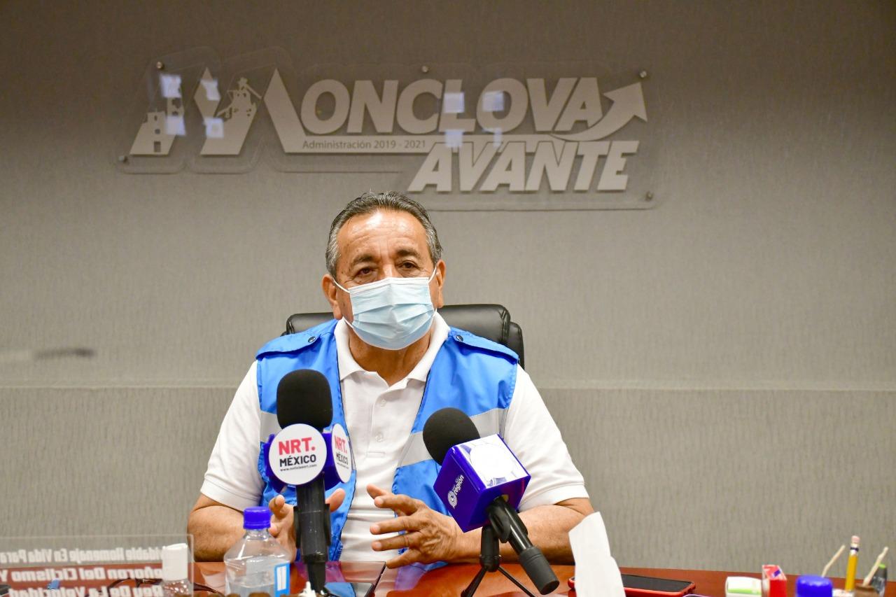 Alcalde recibe oficio donde se anuncia la reanudación para la vacunación