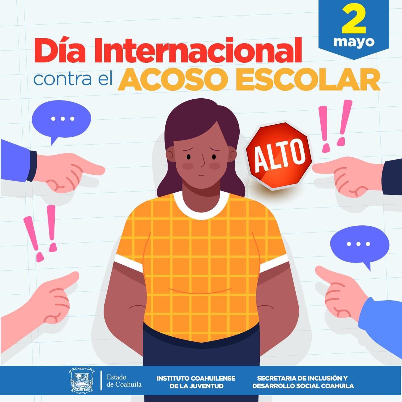 COAHUILA GENERA CONCIENCIA EN EL DÍA INTERNACIONAL CONTRA EL ACOSO ESCOLAR
