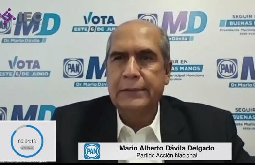 MARIO DÁVILA CANDIDATO GANADOR DEL DEBATE