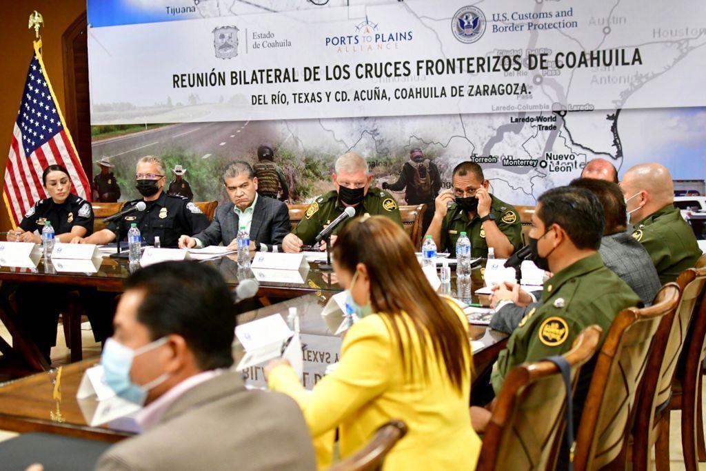 PARTICIPA MARS EN REUNIÓN BINACIONAL DE SEGURIDAD Y CRUCES FRONTERIZOS