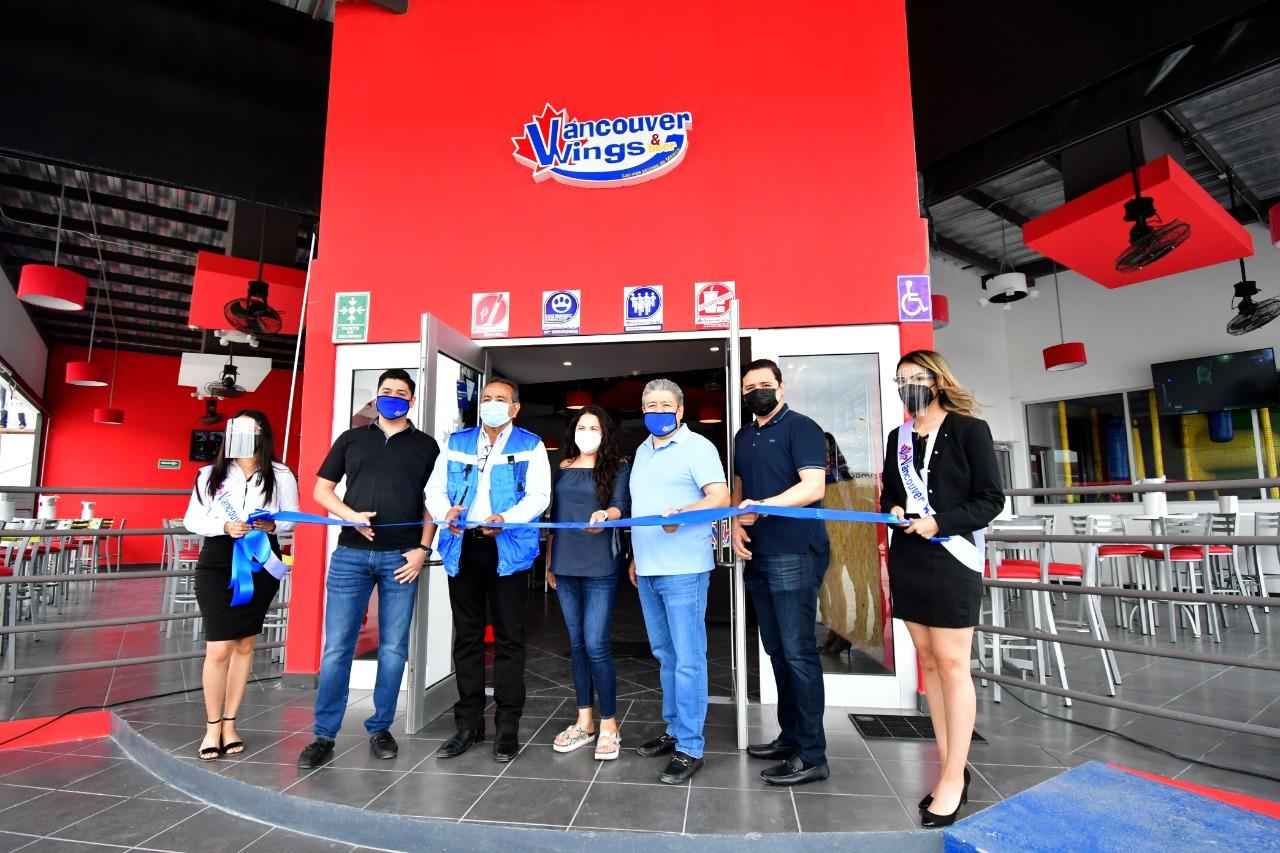 Se inauguró el Vancouver Wings
