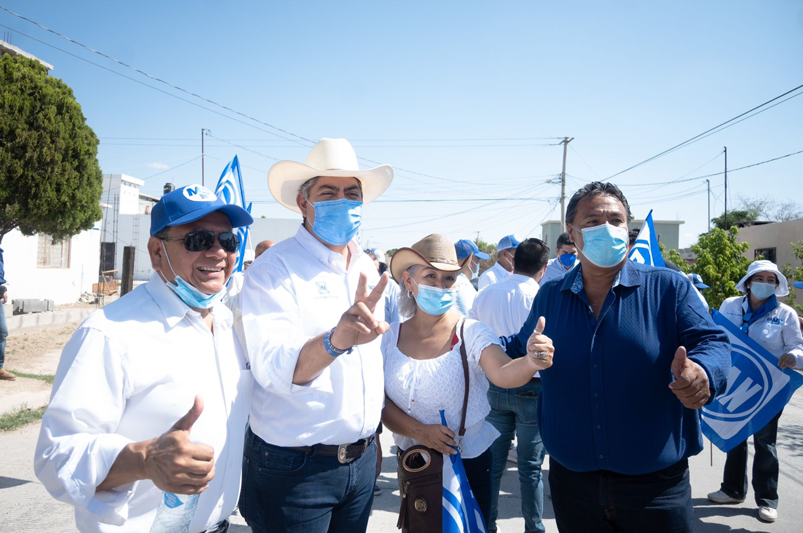 Todos los municipios del tercer distrito han sido visitados por Alfredo Paredes