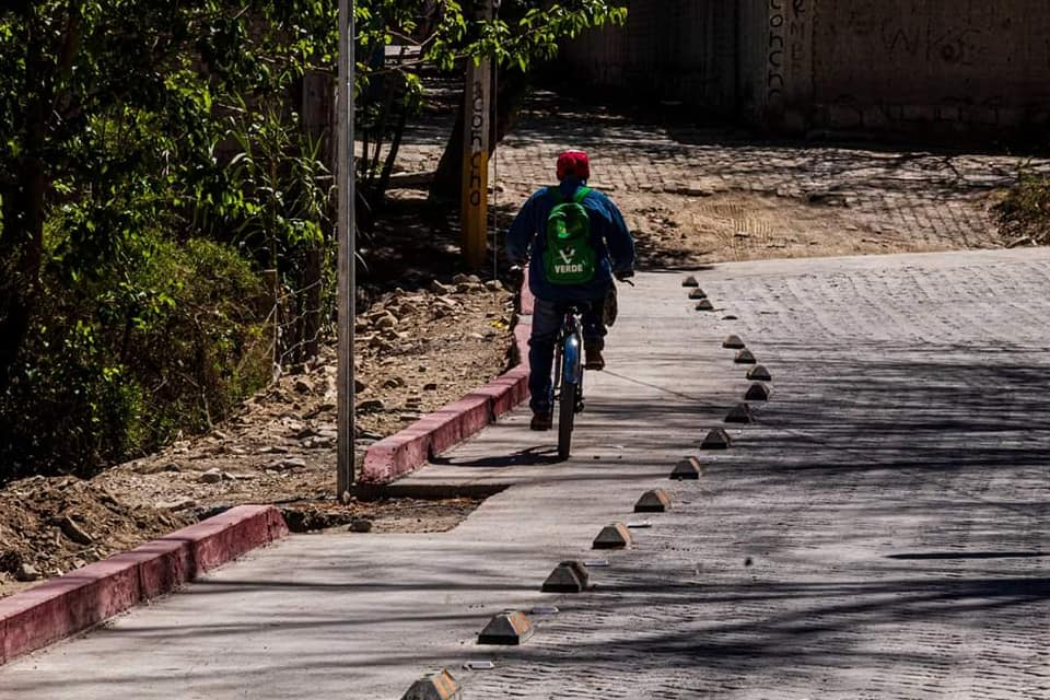 Excelente realización de trabajos en la calle Arcos de la Hacienda