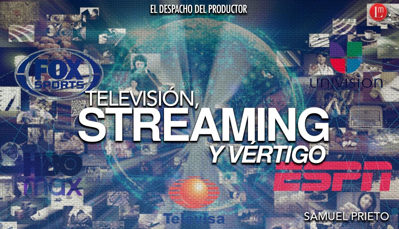 TELEVISIÓN, STREAMING Y VÉRTIGO