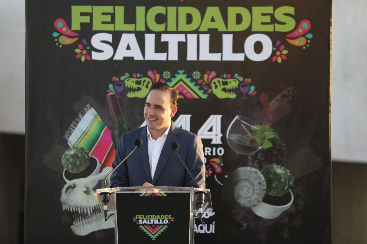 Celebra Saltillo su 444 aniversario como una potencia nacional