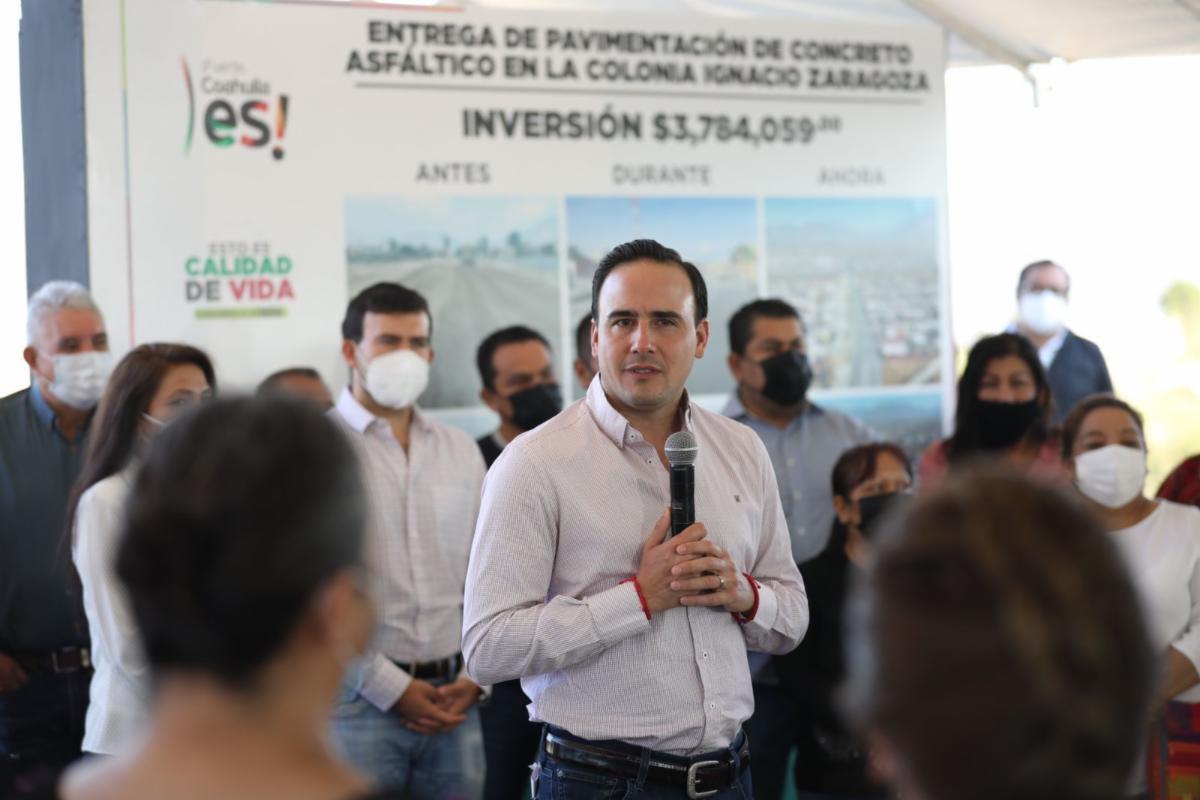 """Seguimos trabajando cerca de nuestra gente"""": Manolo Jiménez"""