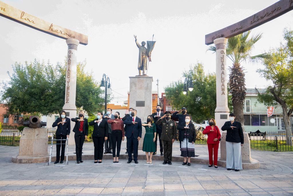 Conmemoración del 211 aniversario del inicio de la Independencia de México