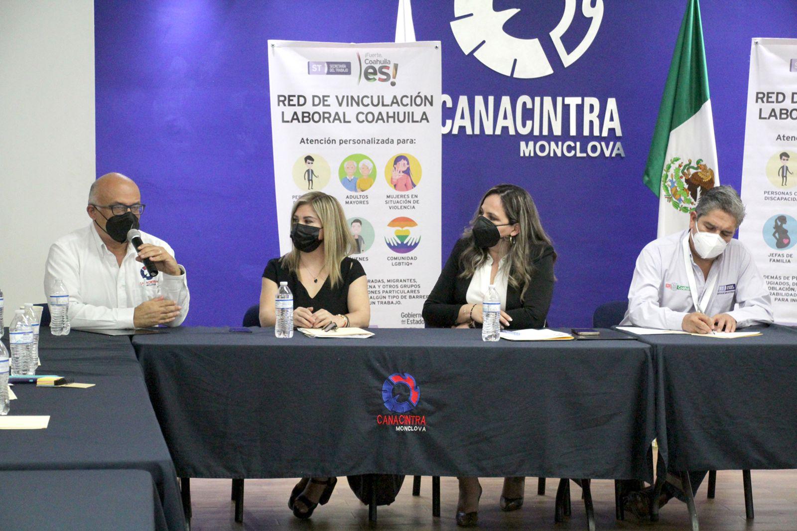INSTALA GOBIERNO DE COAHUILA RED DE VINCULACIÓN LABORAL DE LA REGIÓN CENTRO