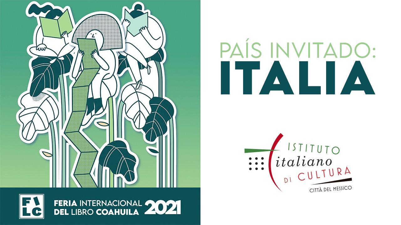 ITALIA, INVITADO DE HONOR EN LA FERIA DEL LIBRO COAHUILA 2021
