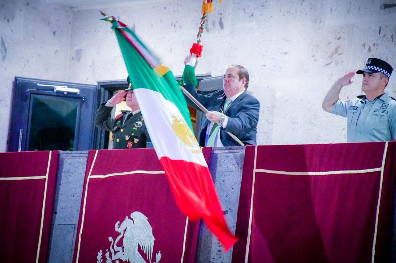 Nigropetenses gritan ¡Viva México! desde casa