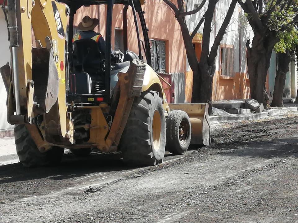 Continuamos trabajando en el mejoramiento de nuestras calles
