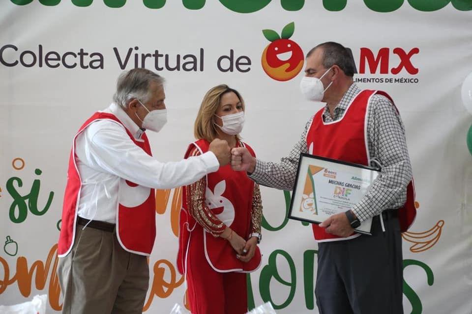 ENTREGA GOBIERNO DE COAHUILA DONATIVO AL BANCO DE ALIMENTOS