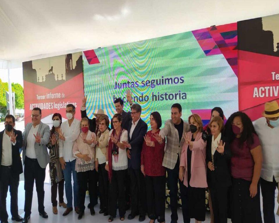 En Guanajuato es tiempo de la alternancia, dice Ricardo Monreal